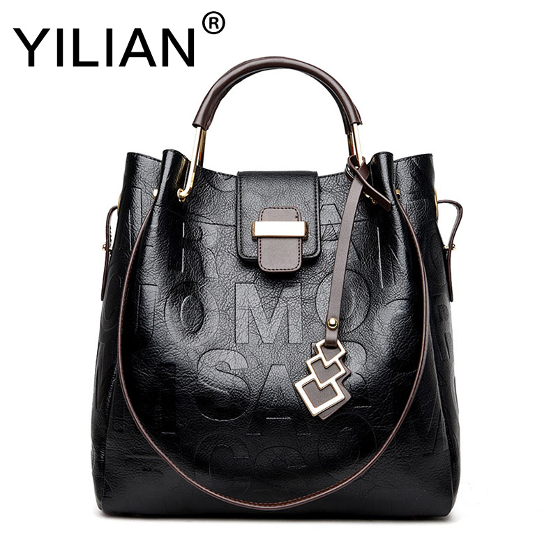 Yilian Novelty 2018 Composite Bags For Womens Shoes 4 Colors Casual Woman Classic Black  ...