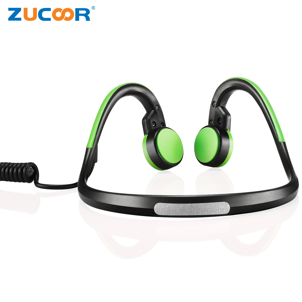 Wireless Bluetooth 4.1 Headset Sport Headphone Bone Conduction ZH03 Stereo Music Waterproof Neck-strap Outdoor Earphone With Mic music stereo headset bluetooth 4 0 edr earphone sweat proof hv 930 wireless headphone neck strap outdoor sport earphone w mic