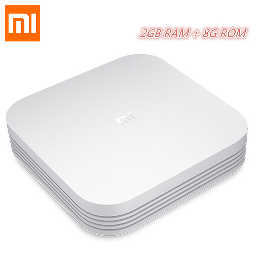 Original Xiaomi Mi TV Box 3 Pro Enhanced Version Android 5.1 Wifi Bluetooth 4.1 Smart 4K HD 2G/8G Dual Core 64bit 4K OTT Box