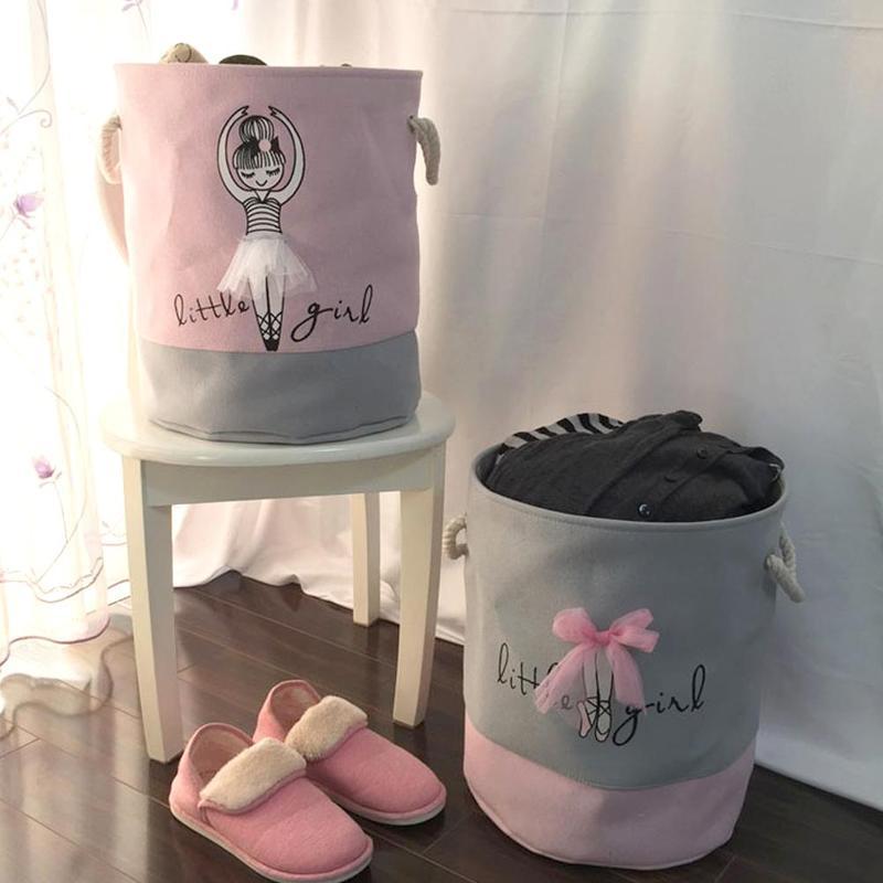 Laundry-Basket Baskets-Bag Organizer Washing-Organization Foldable Home-Storage Kids