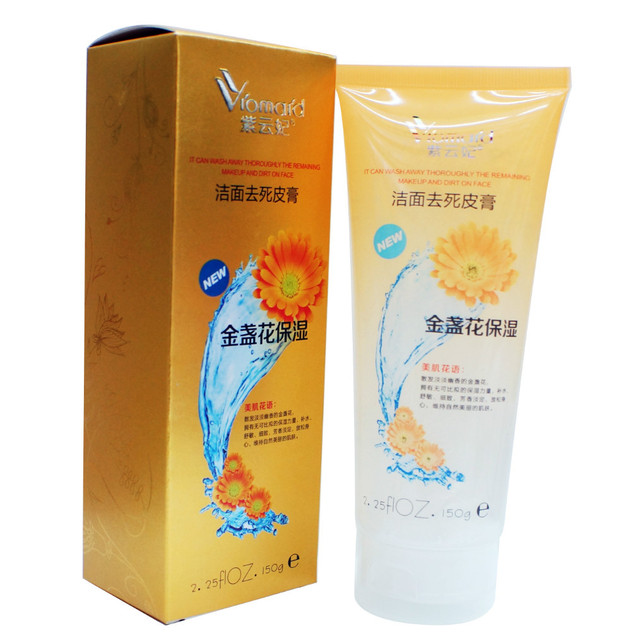 New arrival facial exfoliating cream Peeling gel Dead Cell Remove  Exfoliating Gel Marigolds formulation-in Facial Scrubs & Polishes from  Beauty &