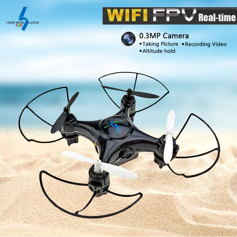 Mini drone con cámara wifi fpv en tiempo real 2.4 ghz 6-axis gyro rc quadcopter
