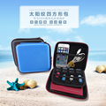 """2016 new Case for usb flash drives Carrying Case for 2.5"""" Hard Drive Disk HDD bag cese protector Zip-Up closure GH1519"""