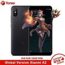 Küresel Sürüm Xiao mi mi A2 6 GB RAM 128 GB ROM CEP TELEFONU Çift 20.0MP Snapdragon 660 Octa çekirdek 3010 mAh 5.99