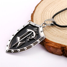World of Warcraft The Alliance Shield Logo Necklace