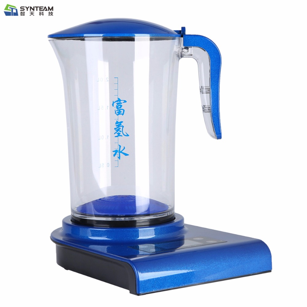 Hydrogen Generator SYNTEAM Brand Alkaline Water Ionizers 2.0L 100-240V Antioxidant ORP Hydrogen Water Maker/Machine free shipping portable hydrogen water maker hydrogen water cup hk 8090