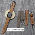 Ремешок для часов  из натуральной кожи  для Apple Watch 1  2  3  iWatch