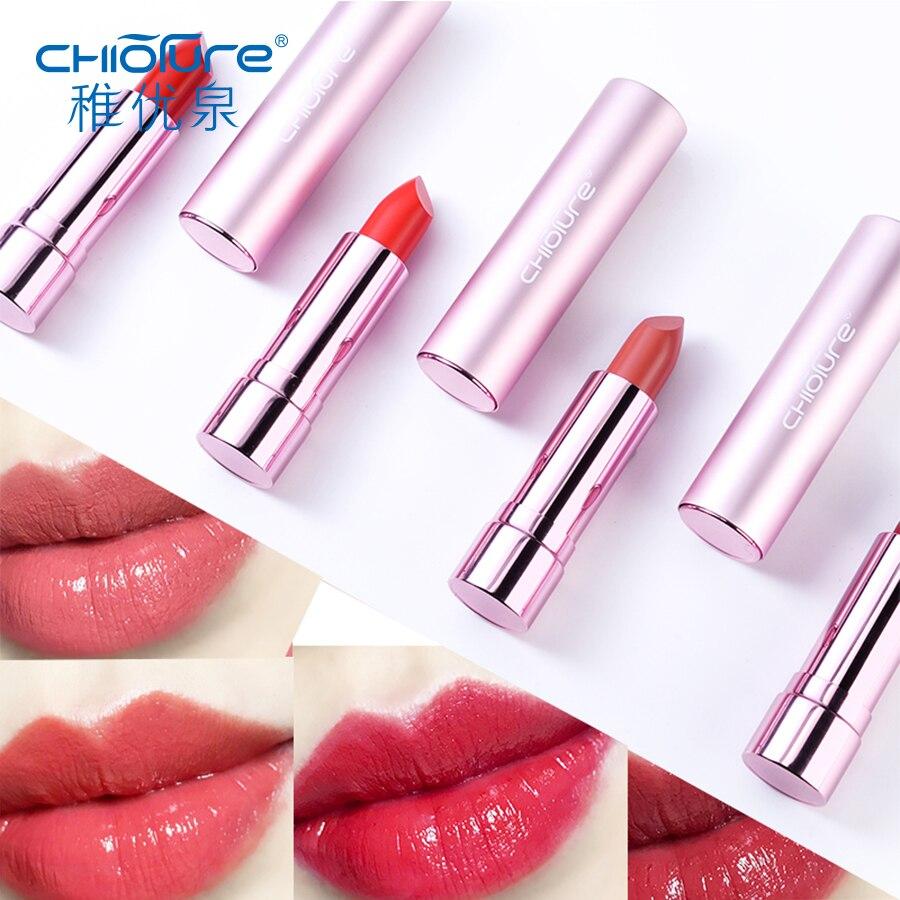 CHIOTURE Brand Waterproof Lipstick Tint Long-lasting Makeup Batom Maquiagem Rouge a Levre Maquillage Labiales Pintalabios