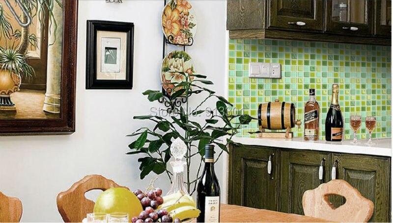 Famoso Vidrio Metro Salpicaduras De Azulejos Para Cocinas ...