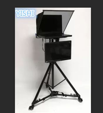 Yishi Neue 20 Inch Klapp Tragbare Teleprompter Für Micro-klasse Sitzung Moderator Inschrift Mit Dual Display Teleprompter Professionelle Audio-aufnahme Professionelle Audiogeräte