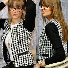 2017 New Women Autumn Spring Long Sleeve Jacket Round Neck Short Coat Outwear