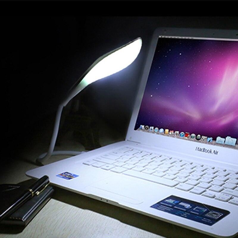 Mainifire Портативный USB светодиодный чтения настольная лампа Гибкая мини USB ночник ноутбук Тетрадь DC 5 В