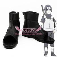 Naruto Kakashi Hatake Anbu Black Shoes Cosplay Boots CosplayLove For Halloween Christmas Party