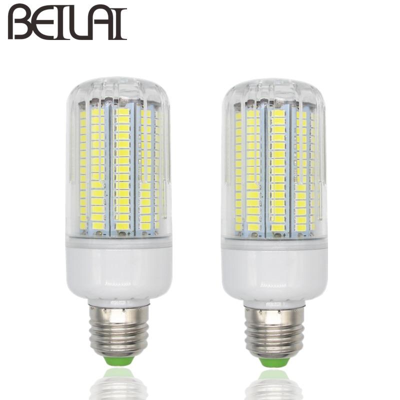4014 dimmable e14 lampada led lamp e27 220v corn light. Black Bedroom Furniture Sets. Home Design Ideas