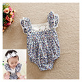 New Fashion 2017 Infant Baby Girl Clothes Newborn Floral Bodysuit Outfit Ropa de Bebe Girls Bodysuits One-Pieces 0-18M Clothing