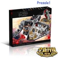 New star план войны предательство в облачный город набор совместим с Legoing Starwars 75222 строительные блоки кирпичи игрушки Рождественский подарок