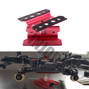 Image 5 - Metal Repair Station Work Stand Assembly Platform for 1/10 1/8 RC Car Traxxas TRX 4 Axial SCX10 90046 D90 RC Crawler Tamiya HSP