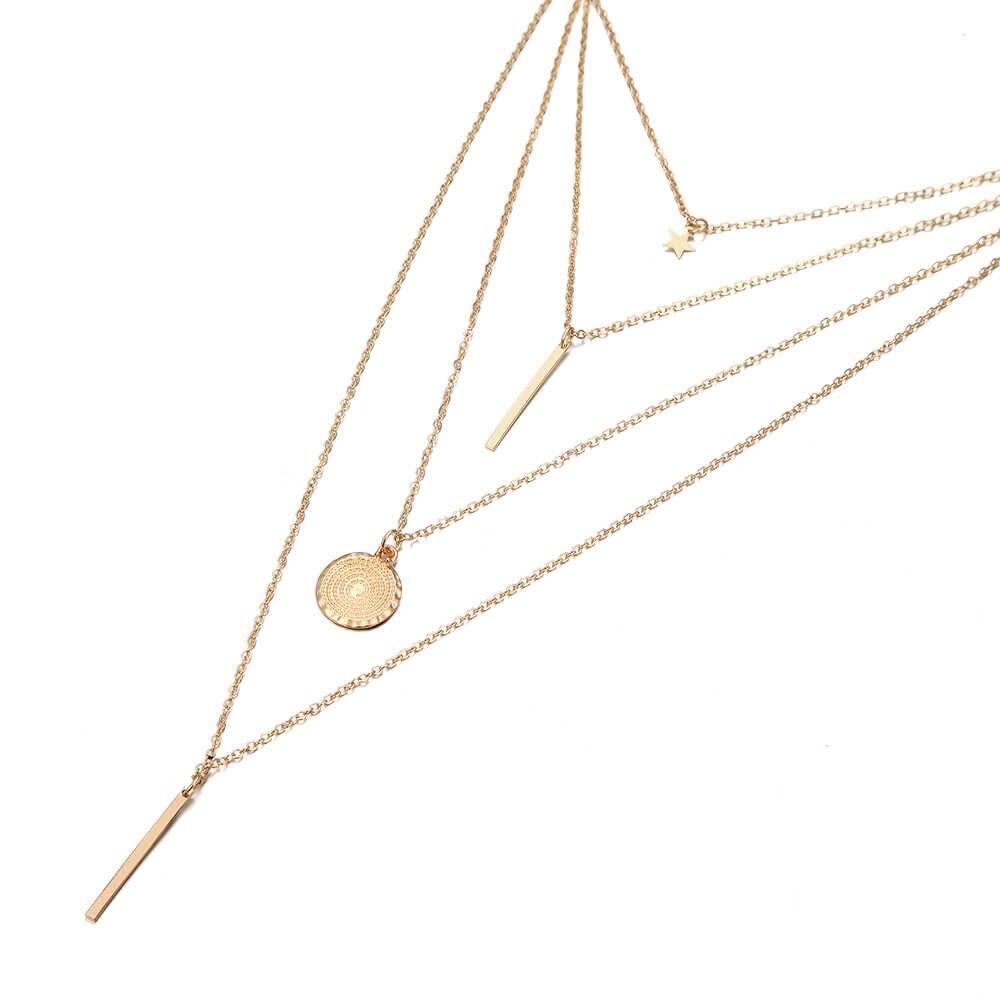 ใหม่แฟชั่นชุดสร้อยคอสร้อยคอผู้หญิง charm Corker สร้อยคอหญิงวันเกิดของขวัญสร้อยคอชุดเครื่องประดับ Bohemian ขายส่ง 2019