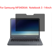 For Samsung NP340XAA Notebook 3 14inch Privacy Screen Protector Privacy Anti Blu ray effective protection of vision