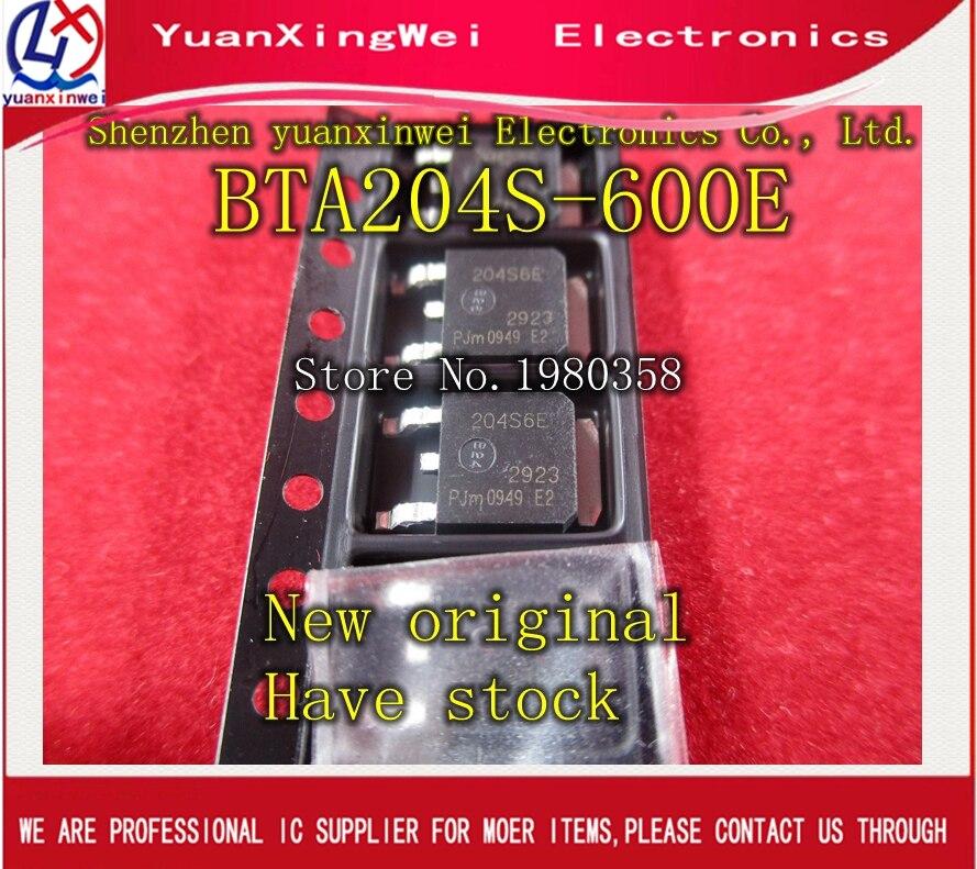 20pcs//lot BTA204S BTA204S-800E Triacs SMD SOT252 New Original