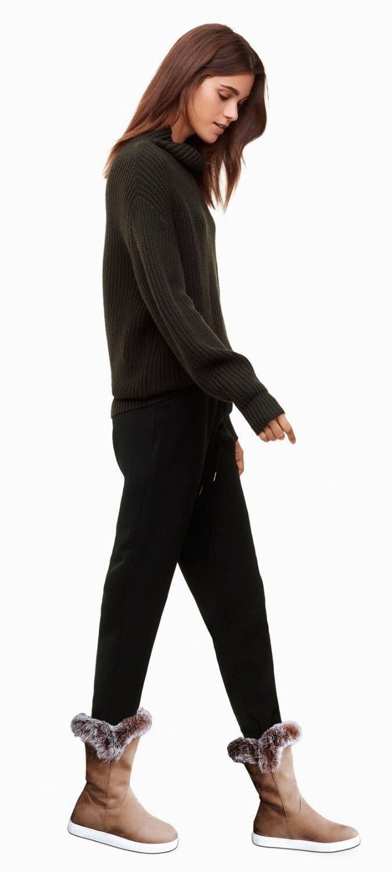 Nuovi Coniglio Pelliccia Avvio Invernali Antiscivolo Ba Da Femminile Signore Donne Scarpe Gregge Neve Moda Caldo Della Photo Stivali Di Photo Caviglia Delle Piatto Non As as rqCFwxzrv