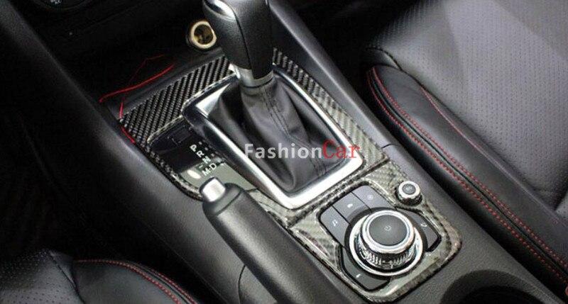 For Mazda 3 AXELA M3 2014 2015 2016 Left Hand Drive Interior Gear box panel Cover Trim 2pcs/set vel vel 03 06 04 00800