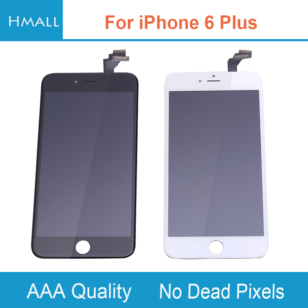Grade AAA For iPhone 6 Plus LCD Display with Touch Screen Digitizer Assembly Replacement for iPhone6 Plus 6Plus No Dead Pixels grade a replacement lcd glass screen ecran touch display digitizer assembly for oppo r9 plus 6 0 inch white with free tool kit