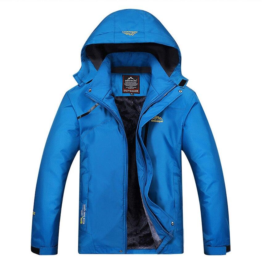 New Men's Women's Winter Fleece Jacket Outdoor Thermal Waterproof Coat Hiking Camping Trekking Climbing Skiing Windbreaker MA156