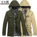 Ferramentas casaco militar casaco de inverno casaco outerwear casual masculino