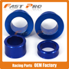 Blue CNC Front Rear Wheel Hub Spacers Axle Kit For YZ250F YZ450F 2014 2016 14 15
