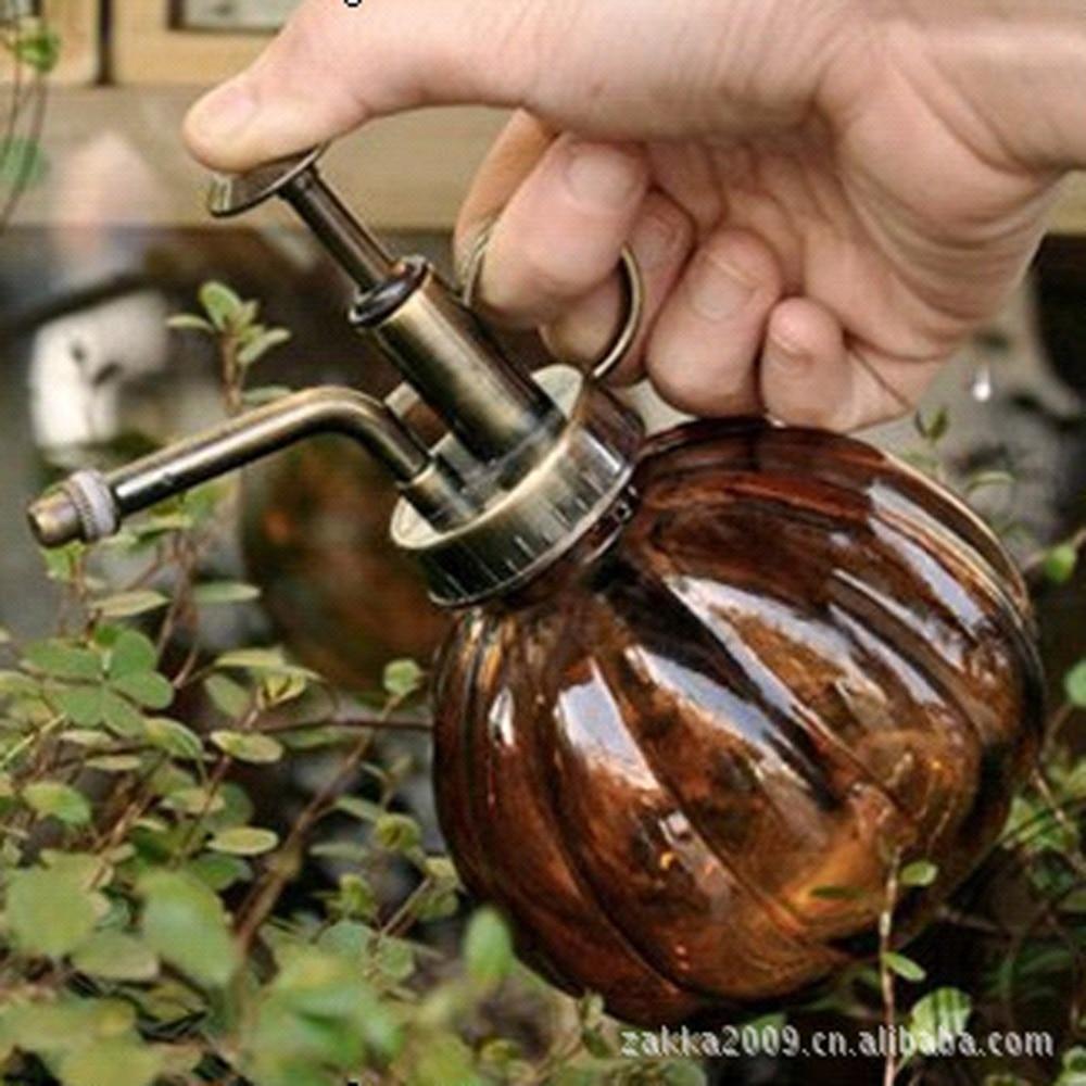 Gratis frakt Zakka 1 st Vintage antik koppar färgade glas vattning - Trädgård