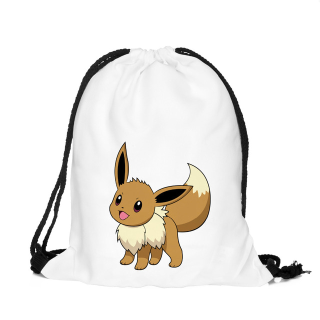 Pokemon Pikachu Drawstring Backpack Bag