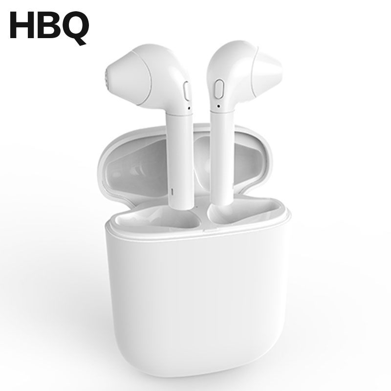 HBQ i8 TWS Mini Bluetooth Twins Earbuds Earphone Wireless Stereo Earpieces With Charging Box For Apple iphone 8 X better i7 i7s