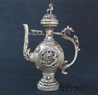 Antique Bronze Pure copper faucet plates ornaments Crafts hip flask Decoration