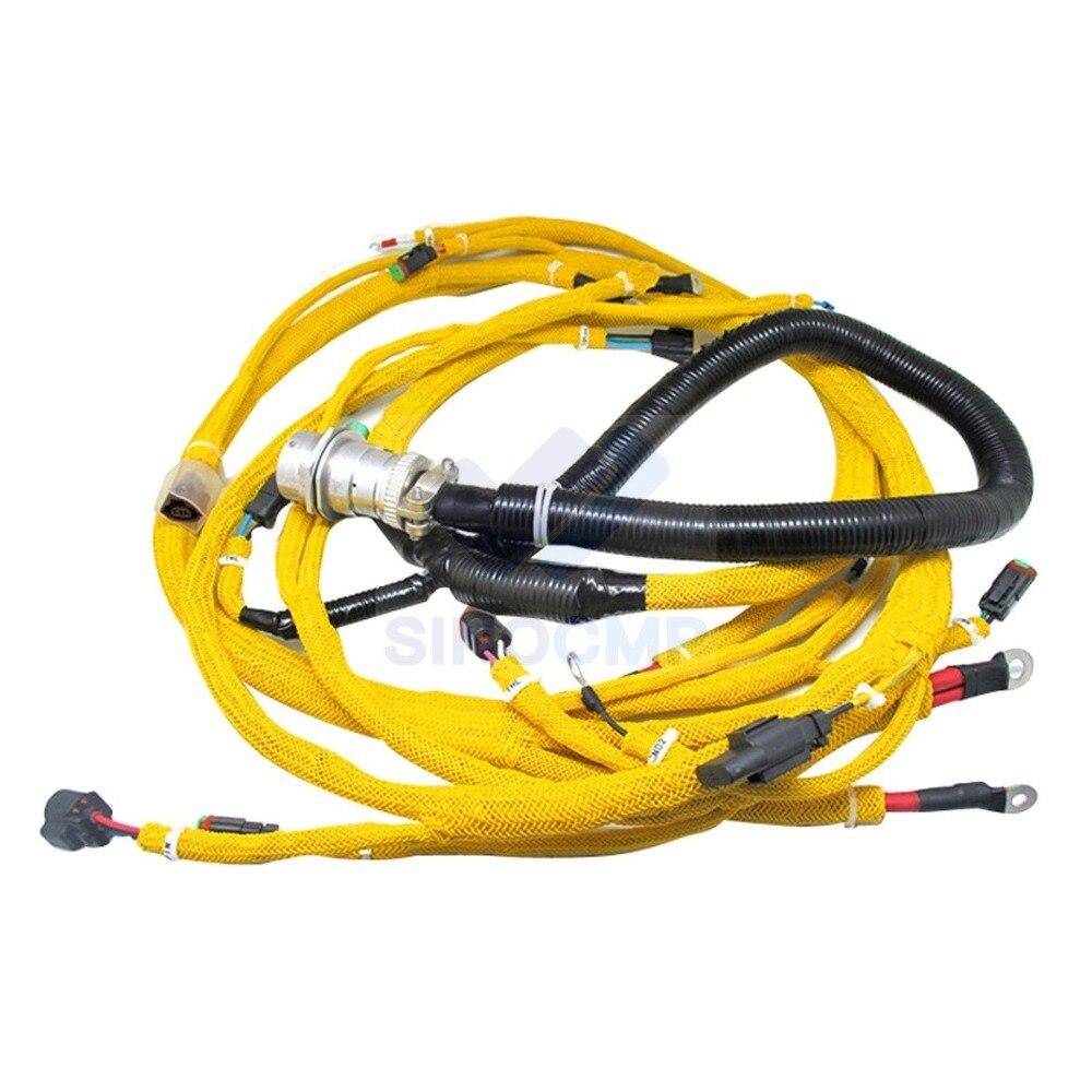5 3 engine wiring harness pc400 7 wa470 5 engine sensor wiring harness 6156 81 9320 for  wa470 5 engine sensor wiring harness