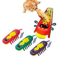 Interesante mascota perro juguete eléctrico juguete divertido gato púrpura rojo verde color múltiple mascotas accesorios