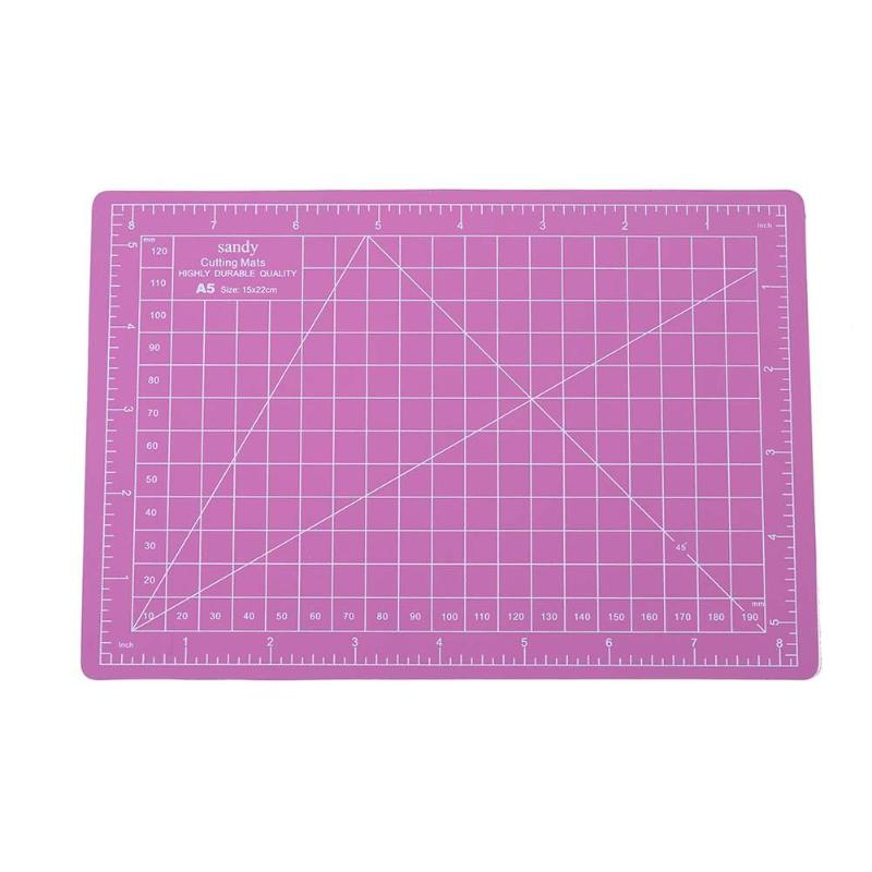 A5 Pvc Cutting Mat Cutting Pad Patchwork Cut Pad A3 Patchwork Tools Manual DIY Tool Cutting Board Double-sided Self-healing