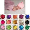 HOT!Newborn Wraps/hammock+Handmade Wool Hat Newborn Baby Photography props  Newborn Fotografia Blanket Props