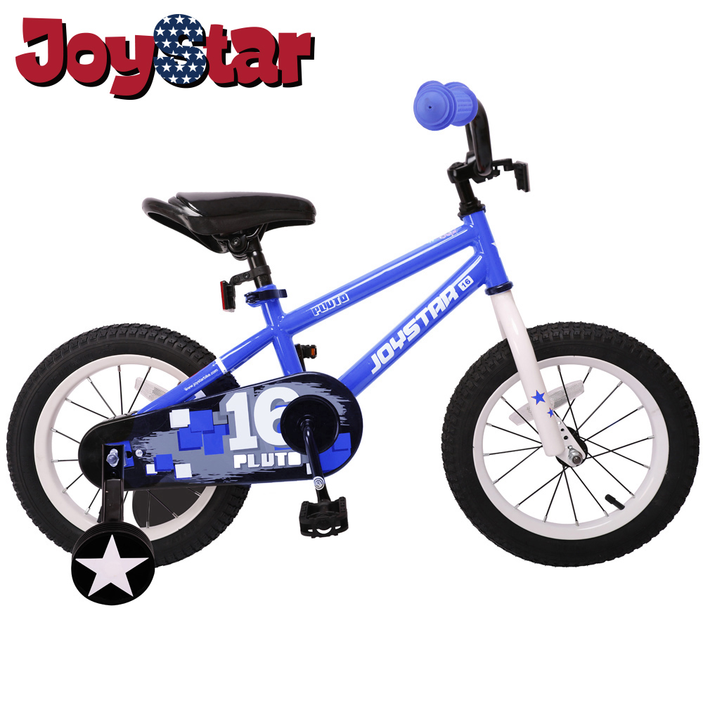 Girl Boy Child Baby Kids Bike Bicycle For Girls & Boys, Training Wheels For 12 14 16 Inch Bike, Kickstand For 18 Inch Bike