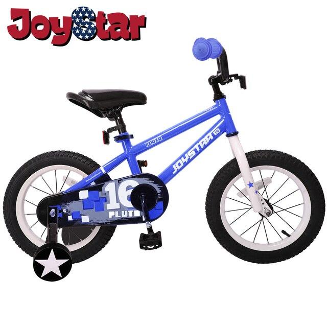 Girl Boy Child Baby Kids Bike Bicycle for Girls & Boys, Training Wheels for 12 14 16 inch Bike, Kickstand for 18 inch Bike