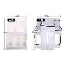 New Rooms Nursery Hanging Storage Bag Baby Cot Bed Crib Organizer  Toy Diaper Pocket for Newborn Crib Bedding Set