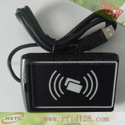 HF/13.56MHZ  USB RIFD  Contacless Smart Card Reader/Writer #ACR110U Supports ISO14443  Type A Cards  Free Shipping