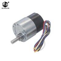 37mm Diameter Gearbox Low noise Long life High Torque 12v 24v Brushless DC Gear Motor Silent bldc gearmotor JGB37 3525