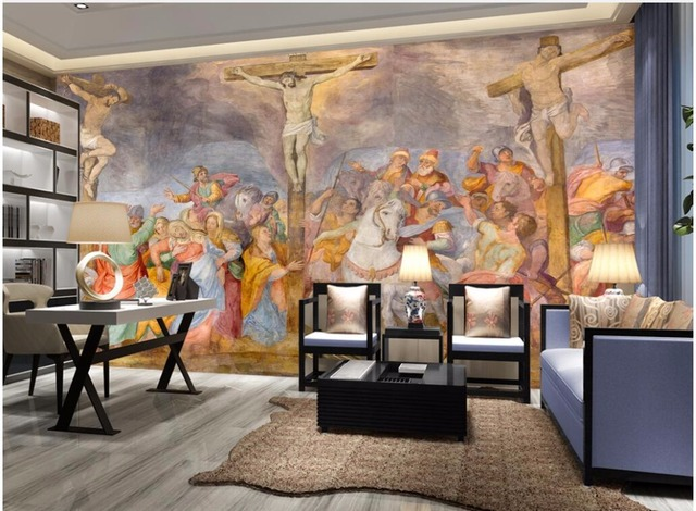 3d Wallpaper Custom Mural The Church Of The Crucifixion Living Room  Background Painting 3d Wall Murals