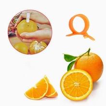 Creative Kitchen Gadgets Cooking Tools Mandarin Orange Peeler Parer Finger Type Cleverly Open Orange Peel Orange Device
