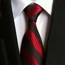 Mantieqingway New Fashion Tie Striped Neck Ties for Men Polyester 8cm Wide Neckties Charm Suits Gravatas Business Corbatas Gifts