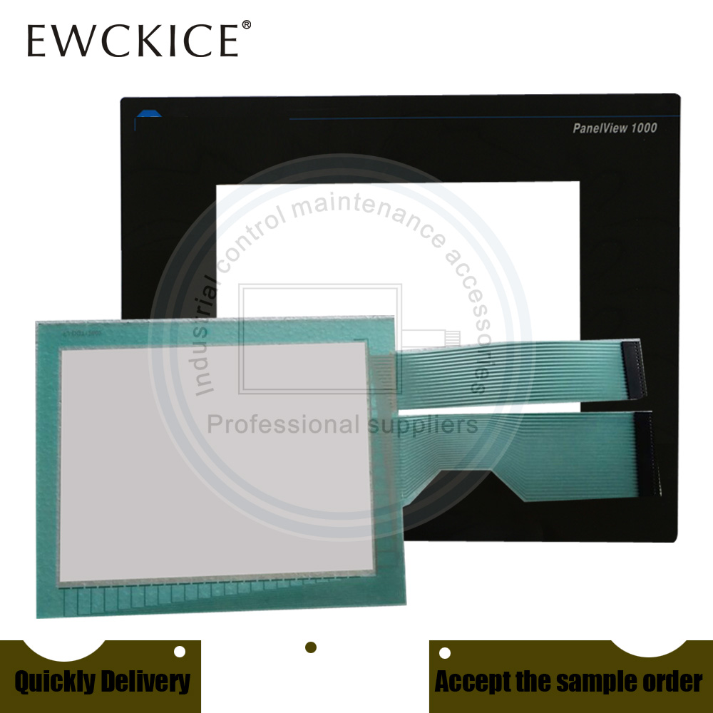 NEW PanelView 1000 2711-T10C16 2711-T10C16L1 HMI PLC Touch screen AND Front label Touch panel AND Frontlabel touch glass touch screen panel new for 2711 t5a9l1 panel 550 monochrome