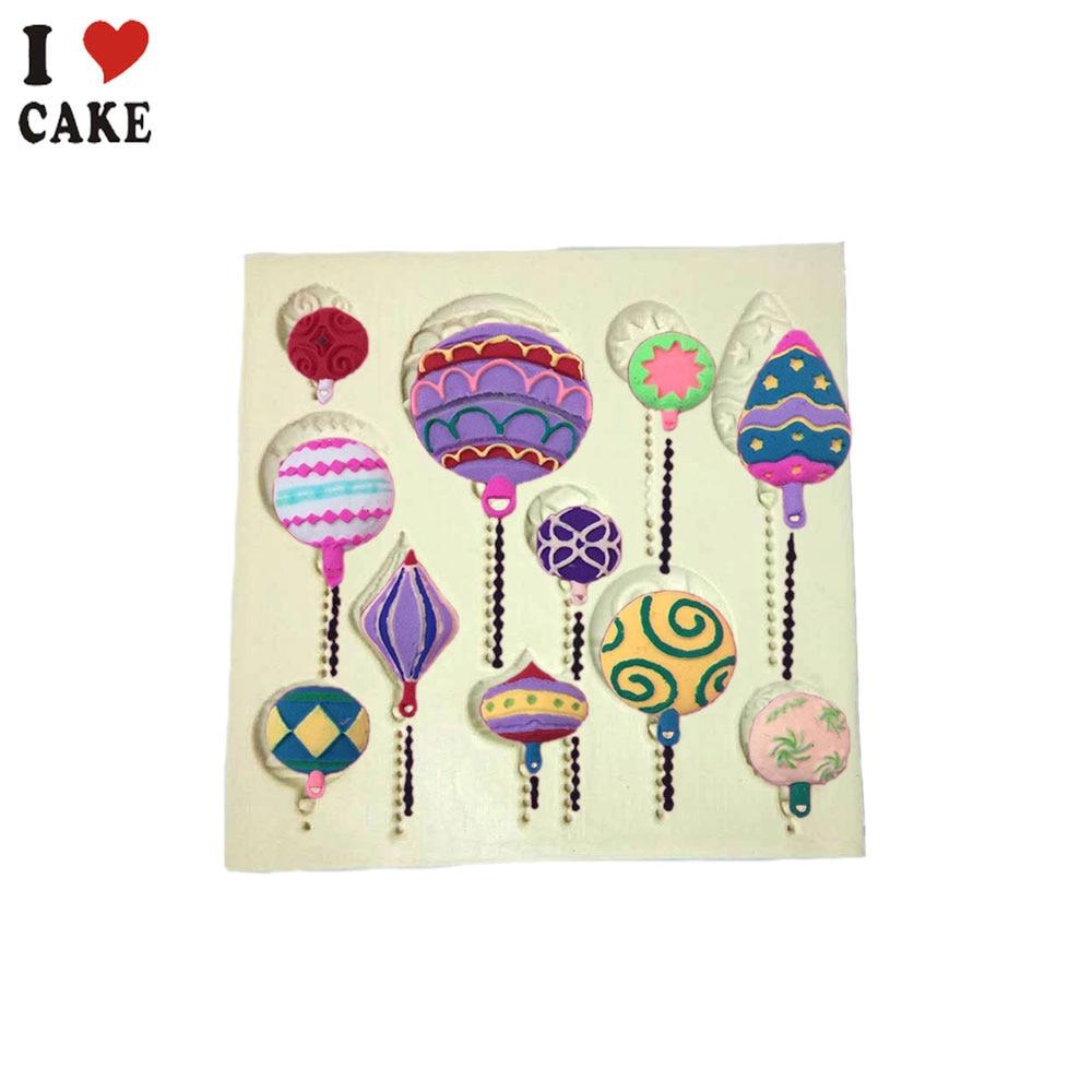 New Popular Balon Silicon Mold Fondant Tort Decorare Unelte Cupcake - Bucătărie, sală de mese și bar