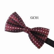 Men Tuxedo Classic Bowtie Woven Dots Bow Tie Necktie Novelty Wedding Adjustable