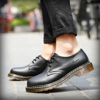 Mens Boots Leather Men's Boots New Martens Casual Leather Boots Mens Military Shoes Work Safety Shoe sapatos FM239